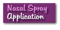 Nasal Spray  Application