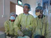 As a cadeveric dissection tutor in SGH FESS Course with participants