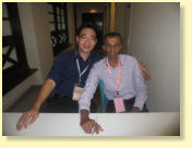 With then Head of Deparment & Consultant ENT Surgeon in Sarawak General Hospital, Dr.Selva Kumar